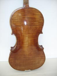 A. Stradivari Viola chestnut yellow (ancient), hand varnished with shellac � technical alcohol